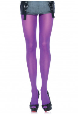 Collant colorati calze viola Leg Avenue