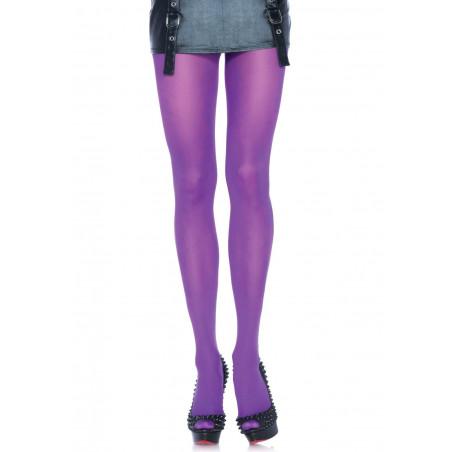 Collant colorati calze viola Leg Avenue