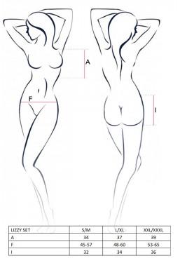 Completo intimo Lizzy shorts + top stringato