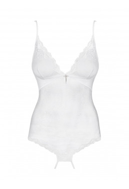 Body Ouvert Charms intimo con apertura all'inguine