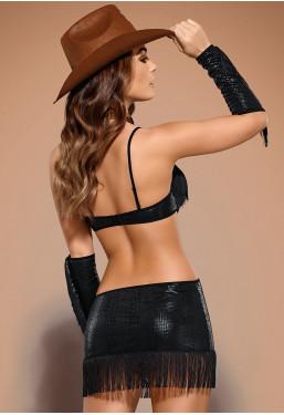Costume da Sceriffo sexy Cowgirl Sheriffia Obsessive