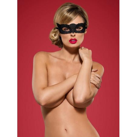 Maschera nera Guipure A700 Obsessive