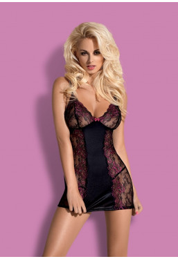 Sexy sottoveste in pizzo Amarone Chemise