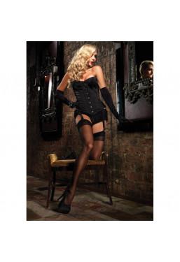 Corsetto nero Showgirl Premium Leg Avenue