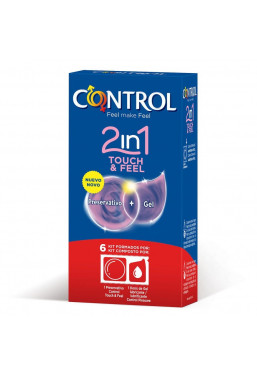 Preservativi Control Touch&Feel 2 in 1