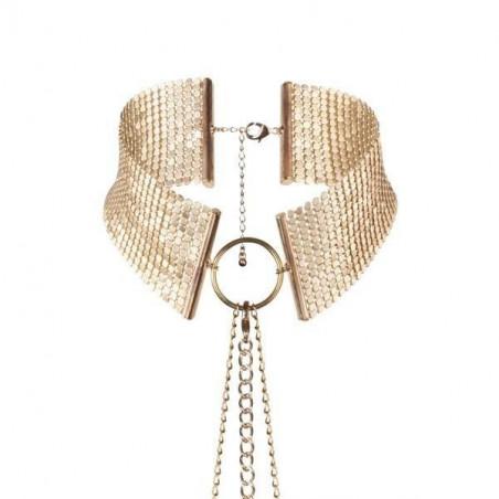 Collana Bodychain in metallo dorato Bijoux Indiscret