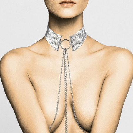 Collana Bodychain Désire Métallique argento