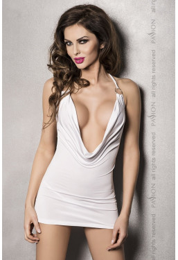 Sexy abito Miracle Dress bianco scollato Passion
