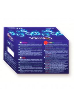 Control Fussion Preservativi Aromatizzati e Colorati