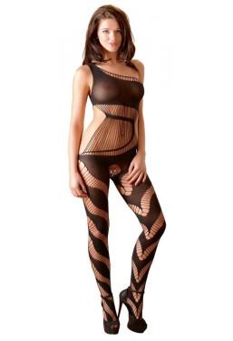Sexy catsuit monospalla bodystocking asimmetrico Mandy Mystery