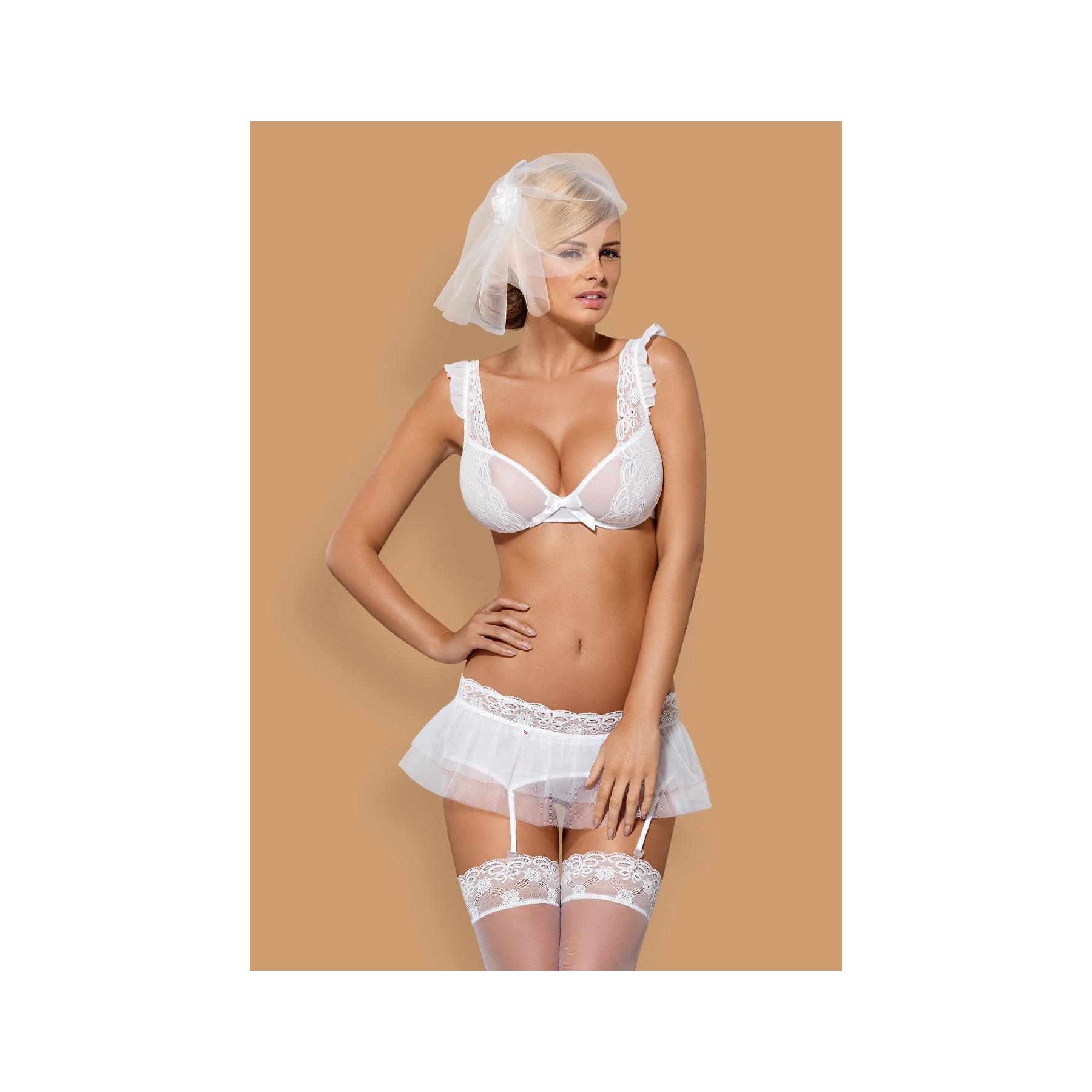 Completino intimo Julitta lingerie sposa sexy Obsessive
