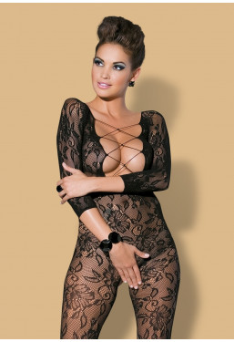 Bodystocking in pizzo F200