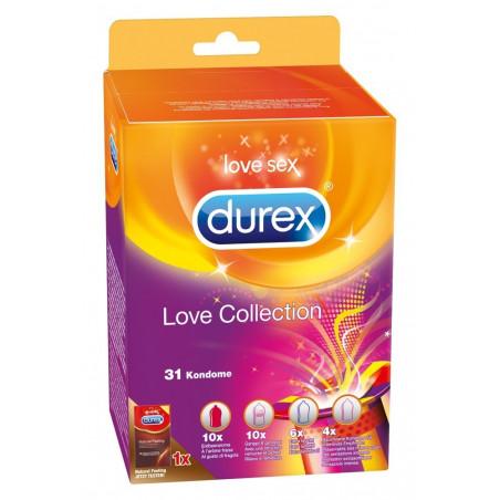 Preservativi Durex Love Collection profilattici misti