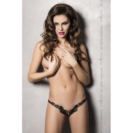 Sexy perizoma aperto nero Athena Passion