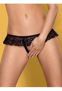 Sexy tanga aperto all'inguine 830 Obsessive Lingerie