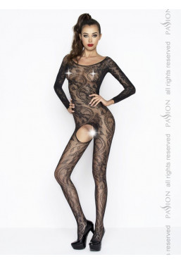 Bodystocking pizzo nero Passion Lingerie