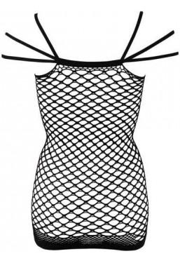 Sexy abito in rete con spalline particolari