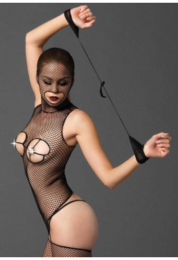 Bodystocking BDSM in rete intimo fetish Leg Avenue Lingerie