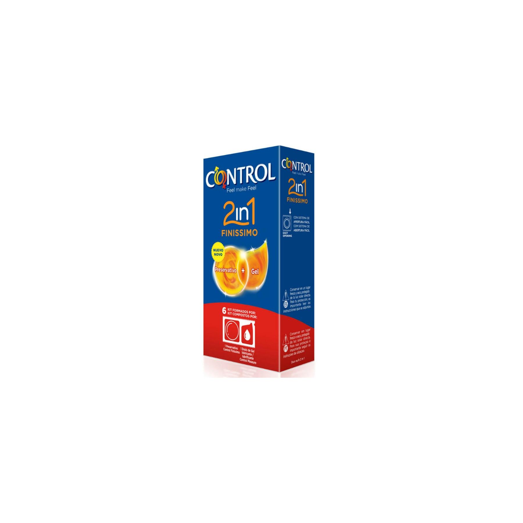 Preservativi Control Finissimo con lubrificante monodose