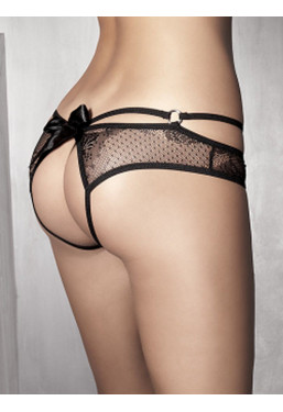 Sexy mutandine aperte nere Permission Anais Lingerie