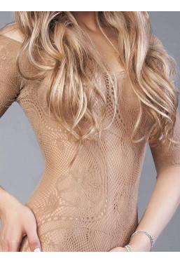 Bodystocking beige sexy tutina Le Frivole Lingerie