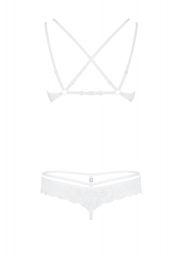 Completino intimo in pizzo bianco 860 Obsessive Lingerie