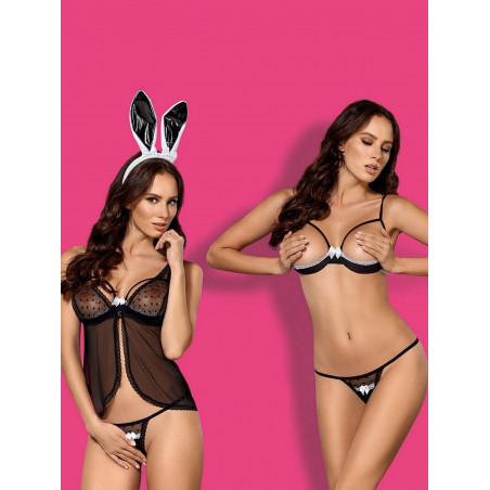 Costume da coniglietta sexy Obsessive Lingerie