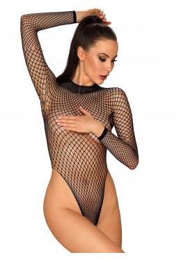 Body in rete nera B125 Obsessive Lingerie