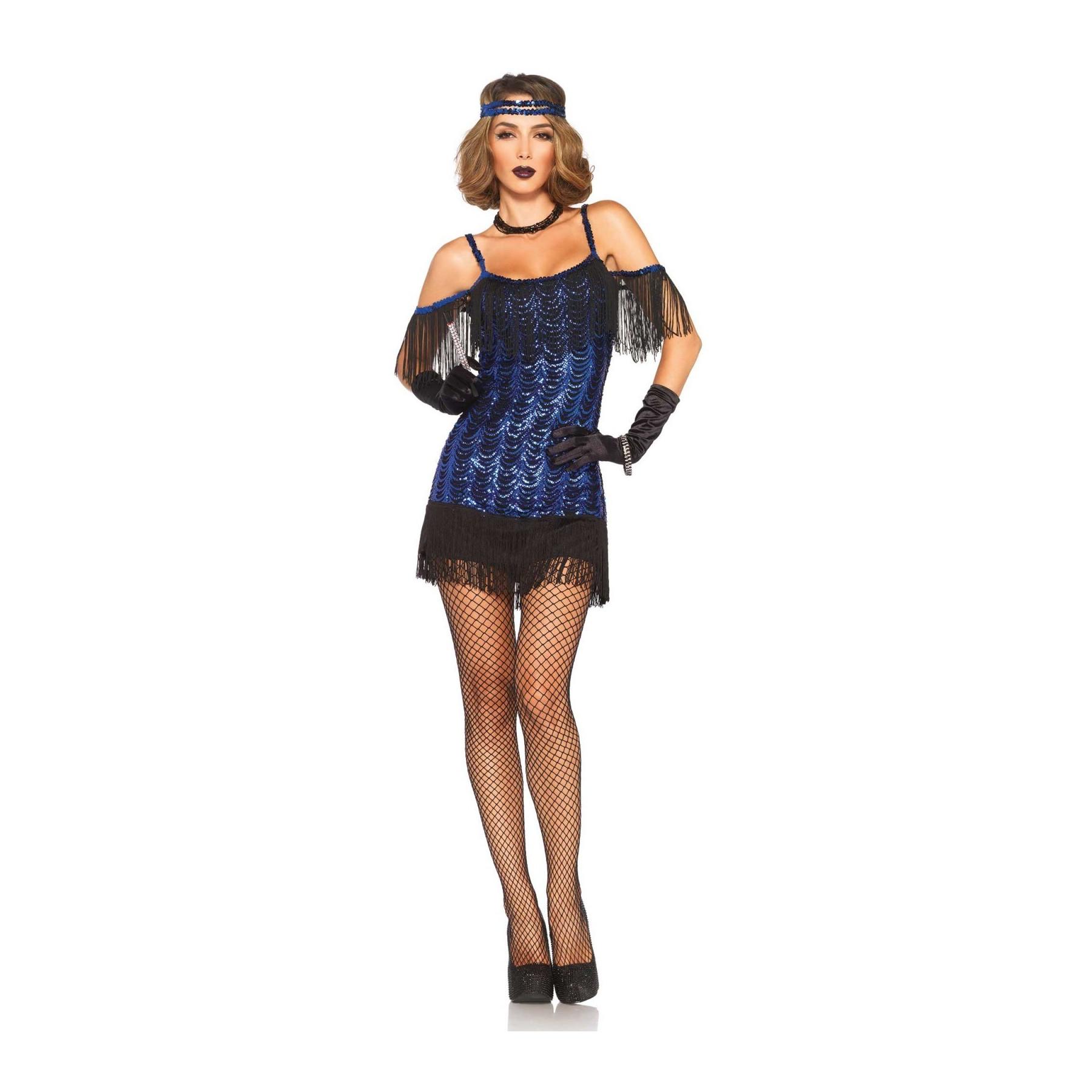 Abito Gatsby - Vestito anni 20 con frange e paillettes
