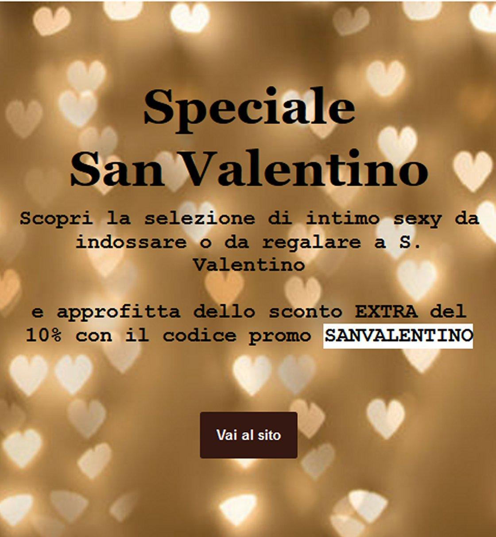 Offerte Lingerie per San Valentino