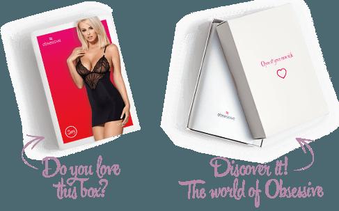 Confezione Sottoveste 828 Obsessive Lingerie