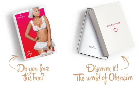 Completino intimo bianco Julitta Obsessive Lingerie